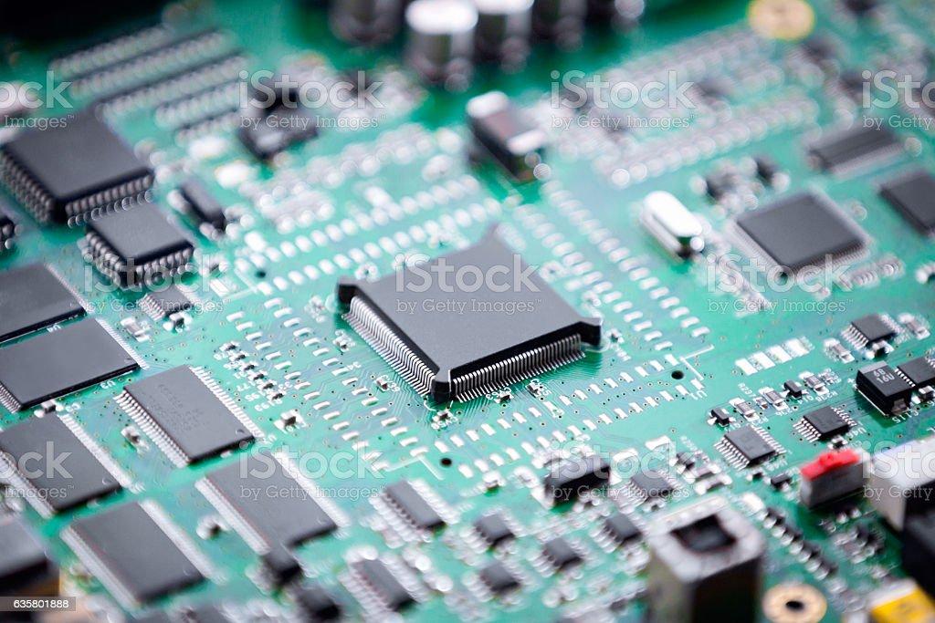 placa eletronica stock photo