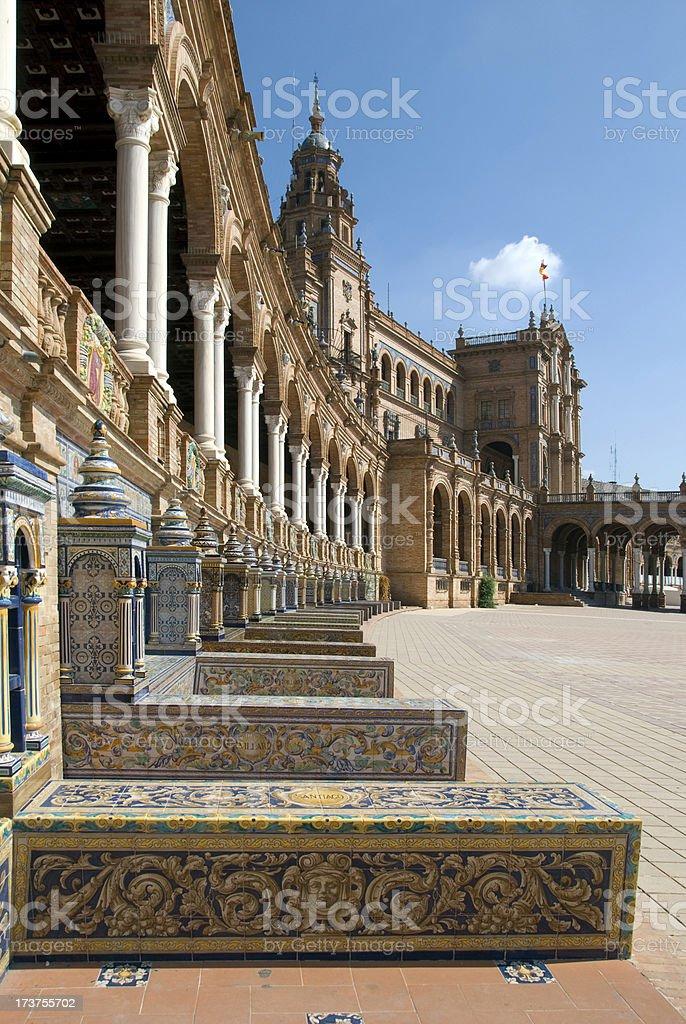 Place de Espagna royalty-free stock photo