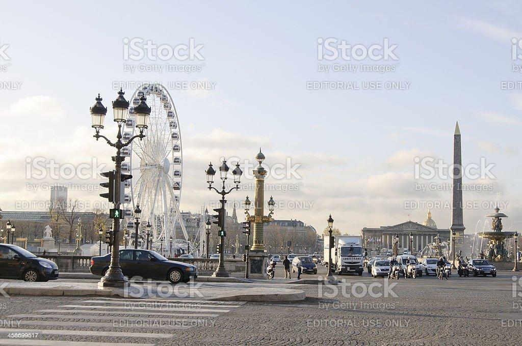 Place de la Concorde, Paris stock photo