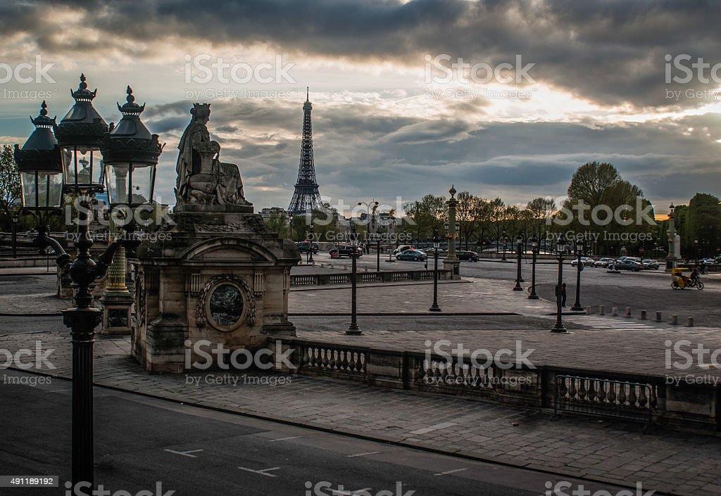 Place de la Concorde photo libre de droits