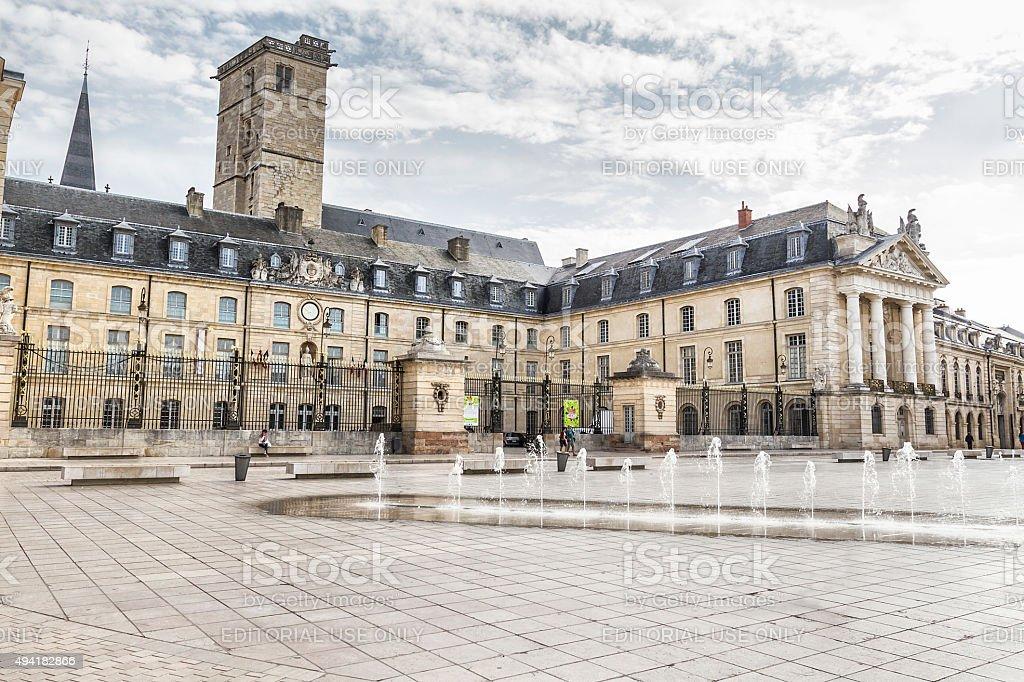 Place de la Libération - Dijon stock photo