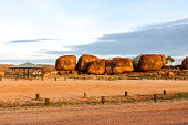 Place for camping. Devils Marbles, Australia