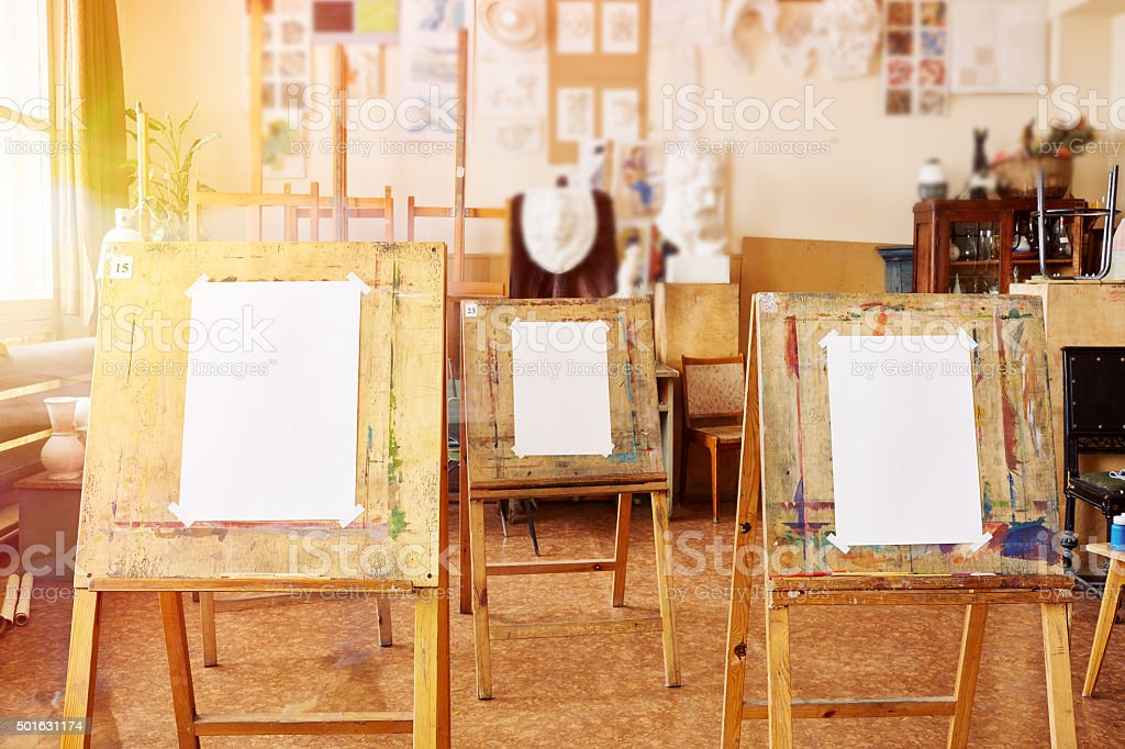 Place for creativity stock photo