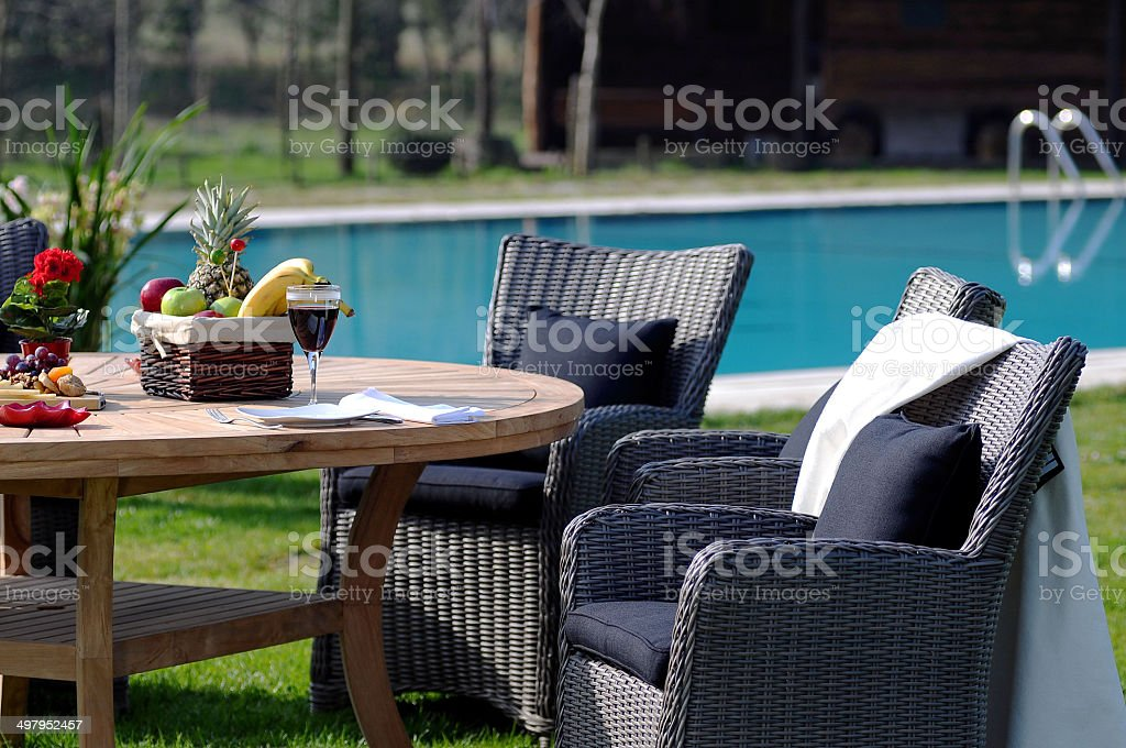 Place for enjoy stock photo