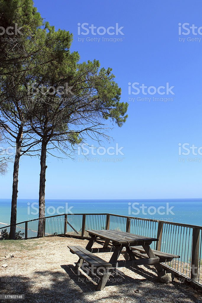 Place in the sun royalty-free stock photo