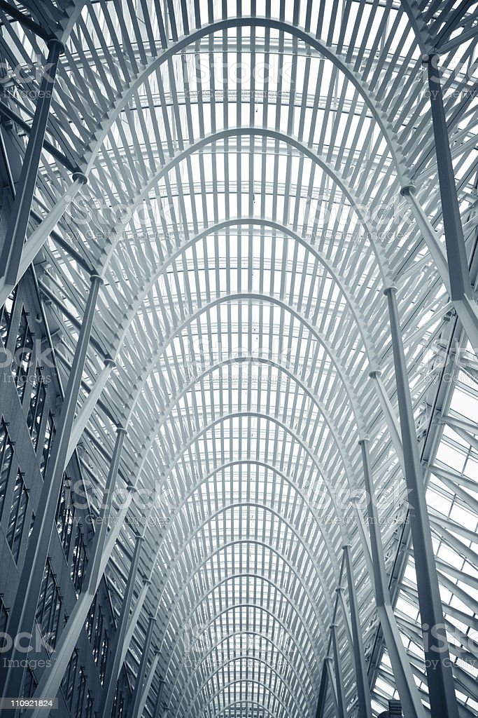 BCE Place  in Toronto stock photo