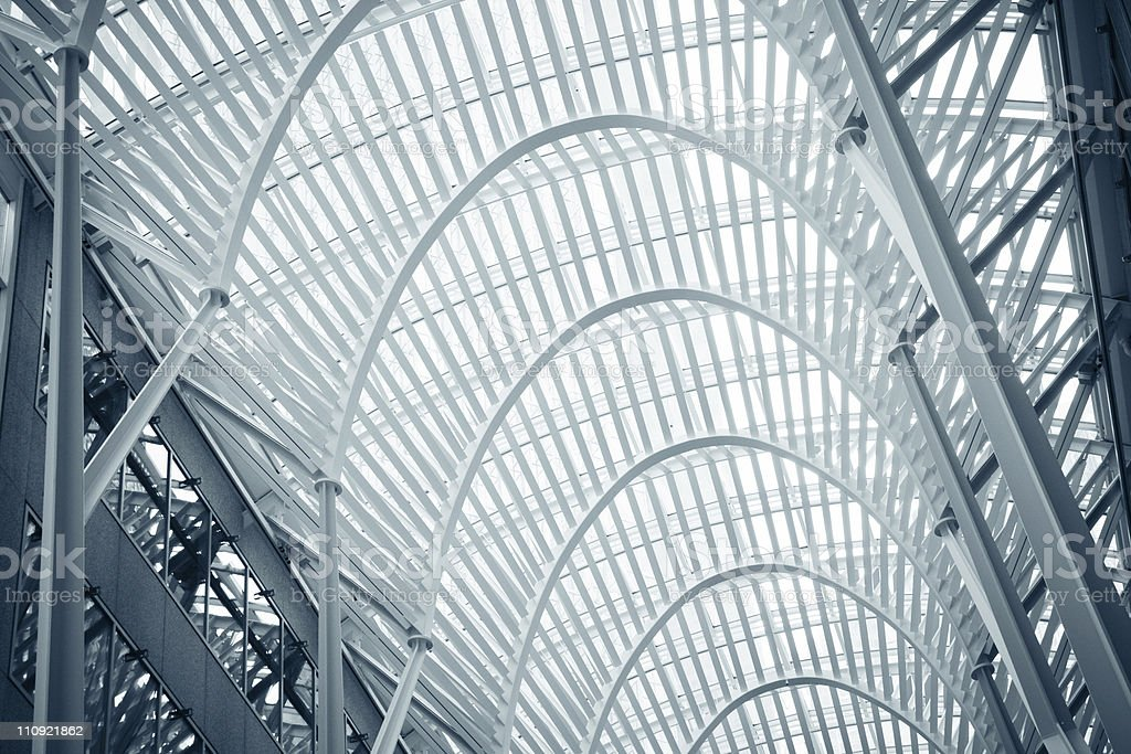 BCE Place  in Toronto royalty-free stock photo