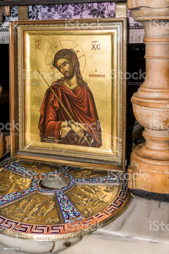 Place of Christ's death stock photo