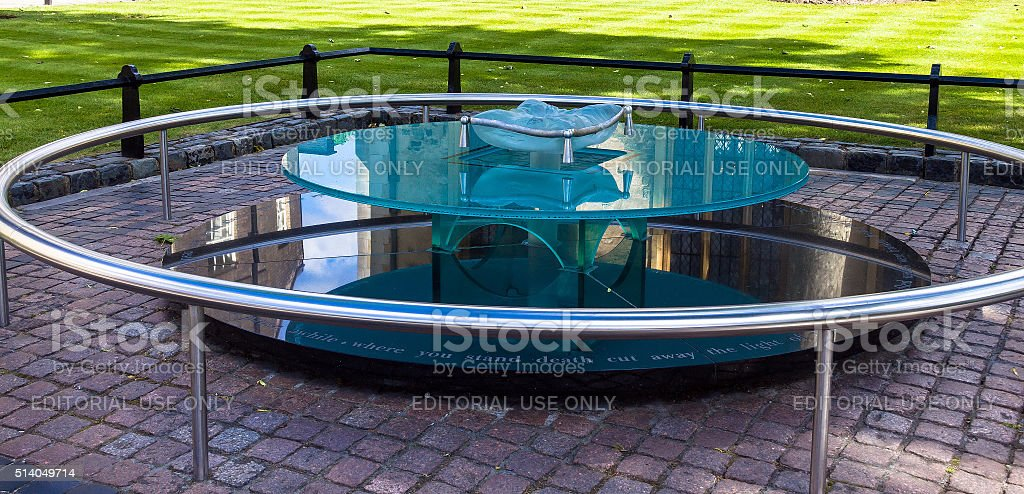 Place of executions sentenced to death in  Tower of London stock photo