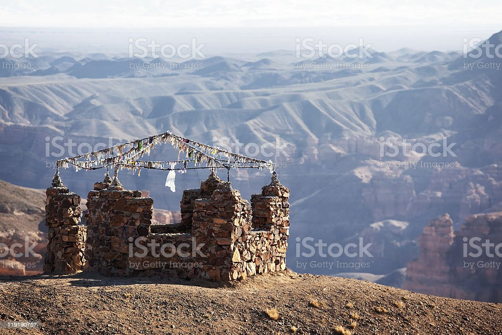Place of pilgrimage stock photo