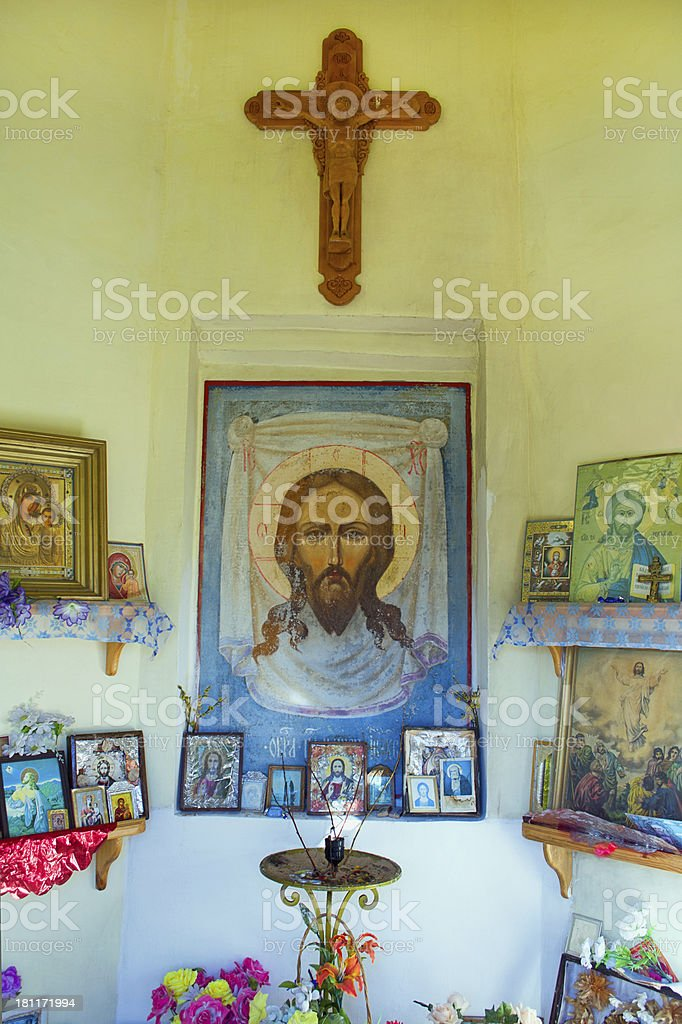 Place of prayer royalty-free stock photo