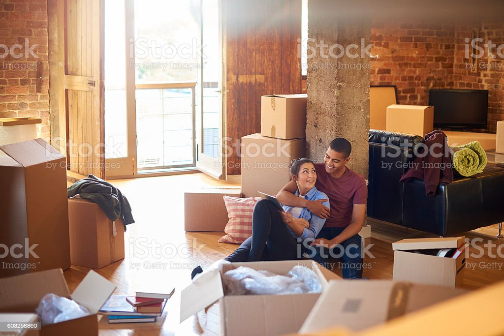 place of their own stock photo