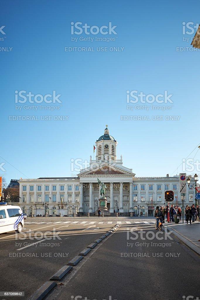 Place Royale or Koningsplein stock photo