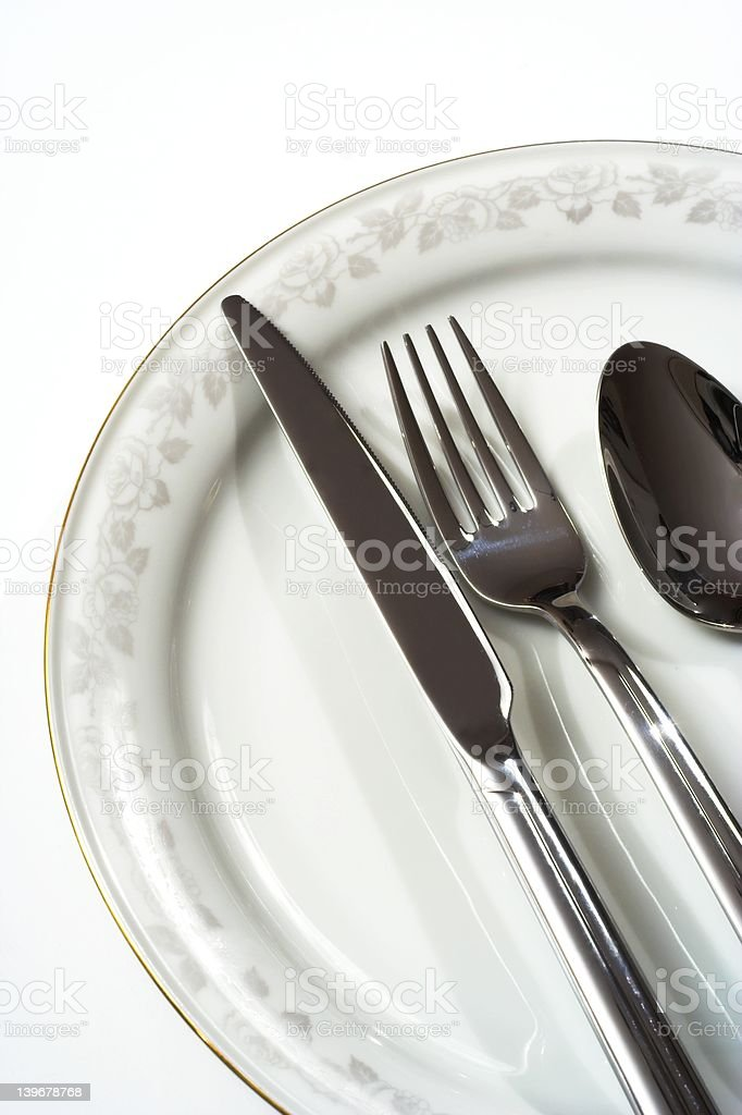 Place setting III royalty-free stock photo