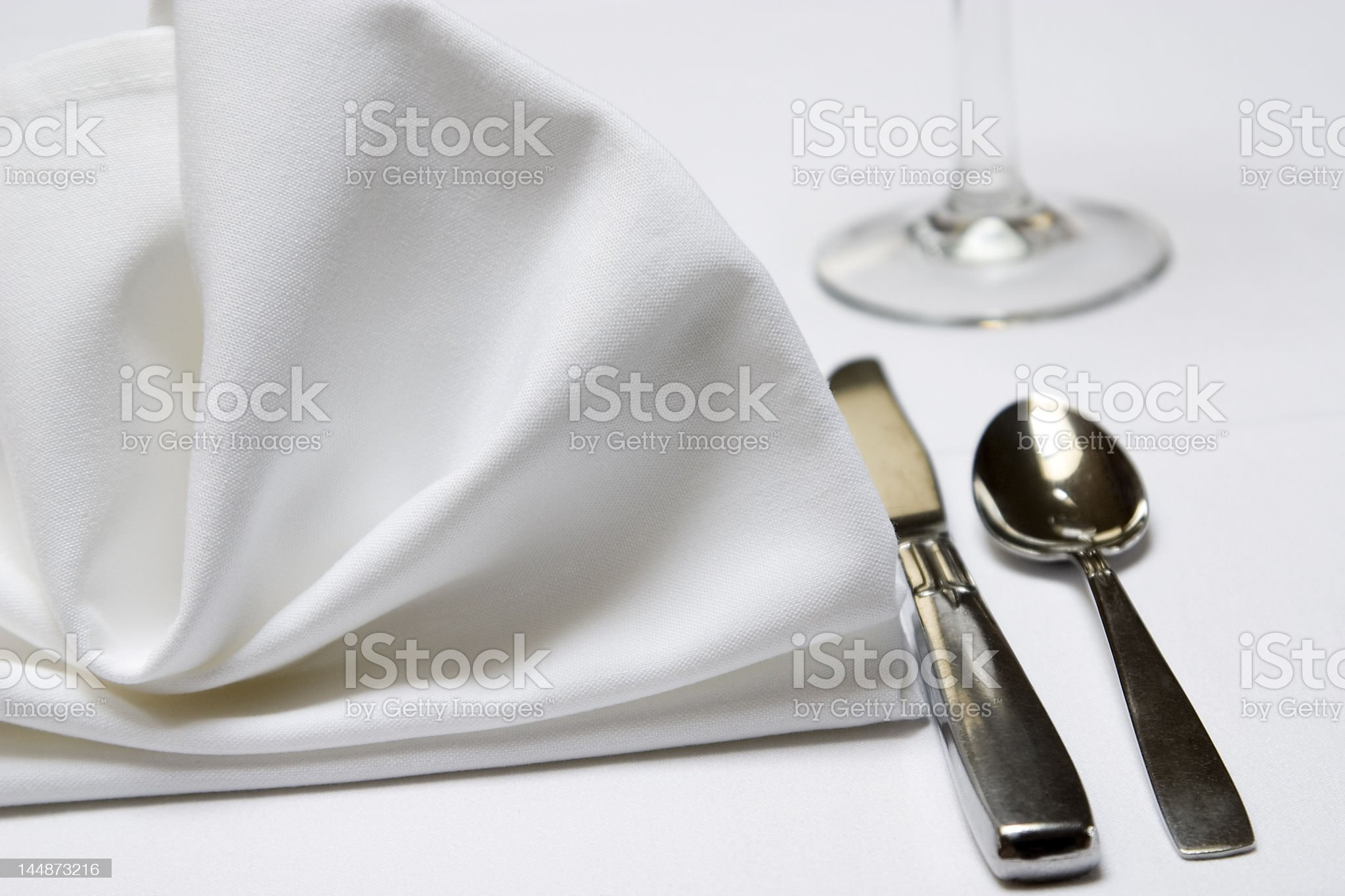 Place Setting royalty-free stock photo