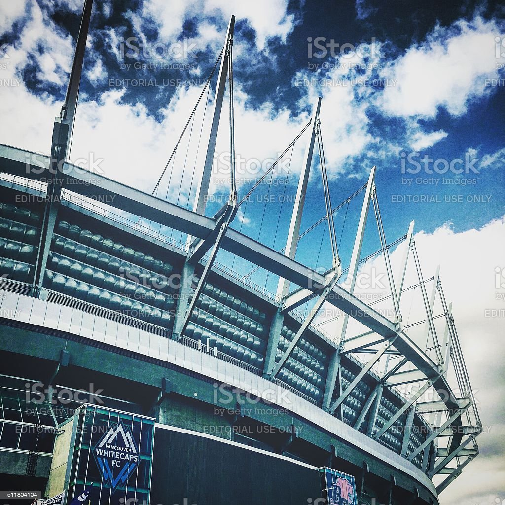BC PLace Stadium stock photo