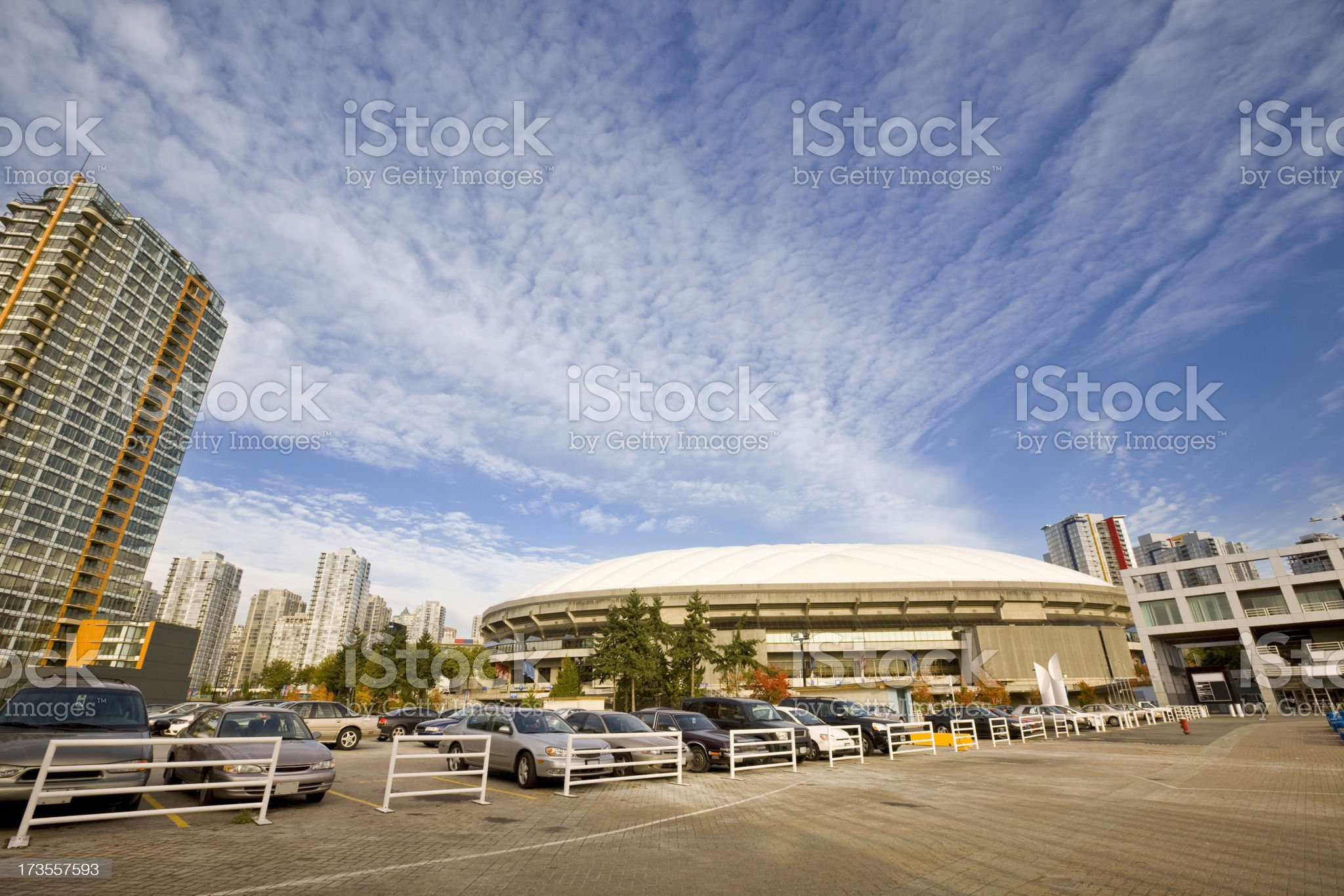 BC Place Stadium Vancouver royalty-free stock photo