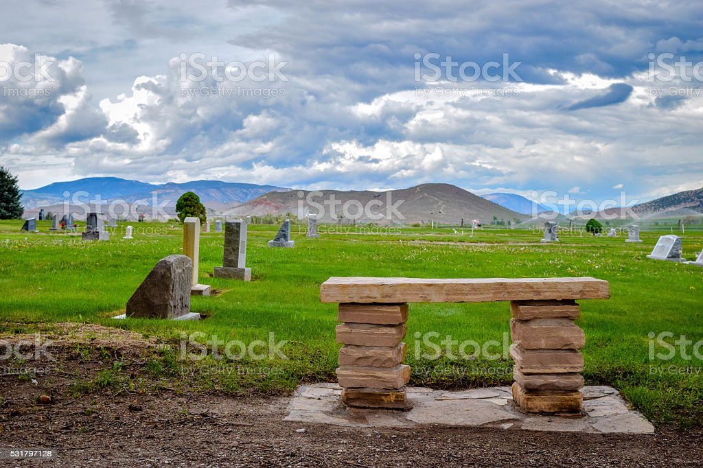 Place to think stock photo