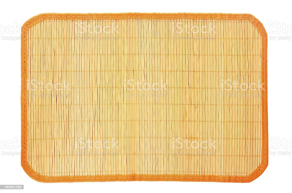 Placemat royalty-free stock photo