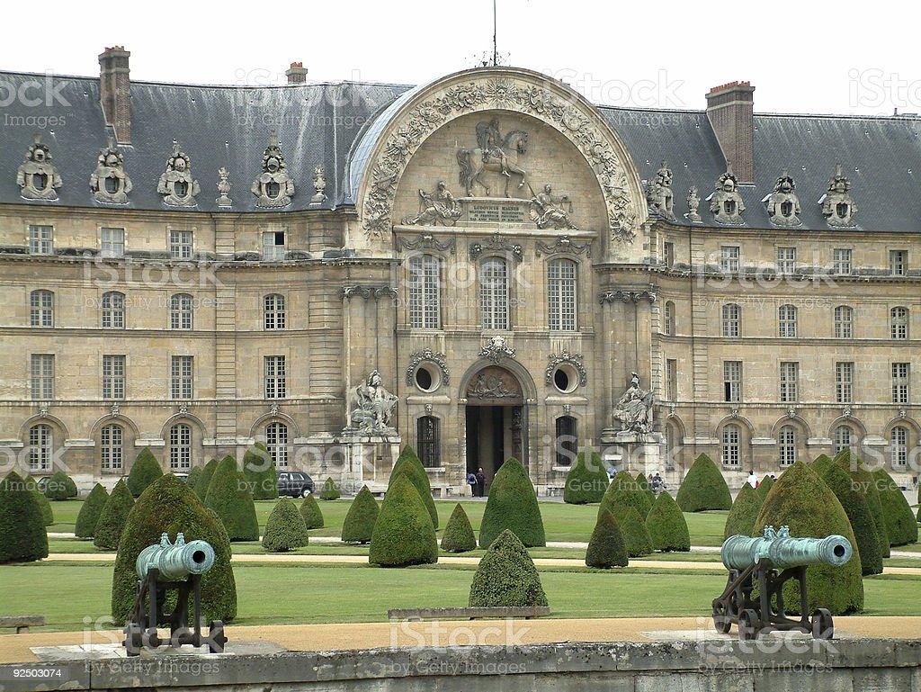 Places - France, Paris, Hotel Des Invalides stock photo