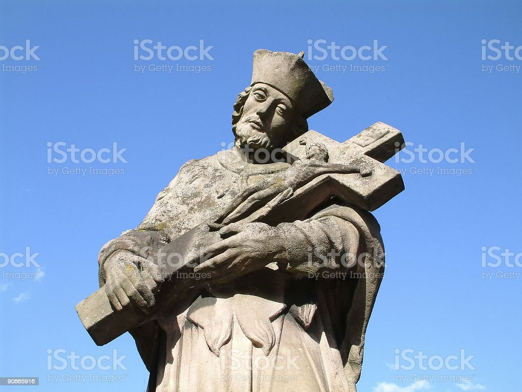 Places - Germany, Rottweil, Religious Statue #2 royalty-free stock photo