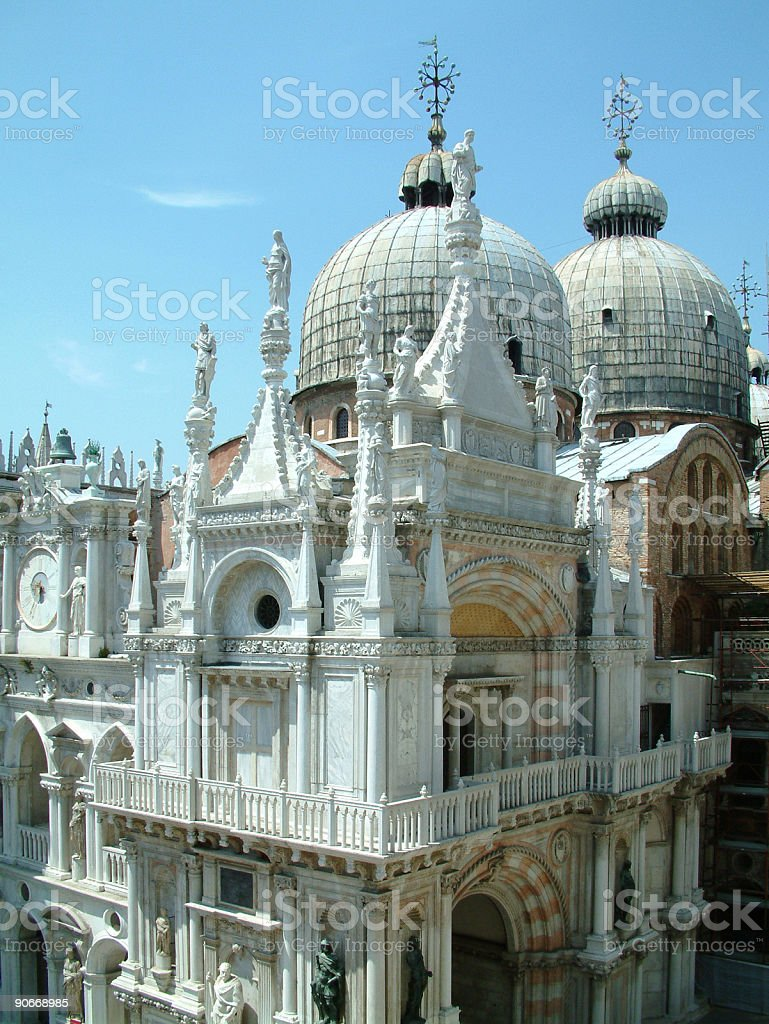 Places - Italy, Venice, Doges Palace royalty-free stock photo