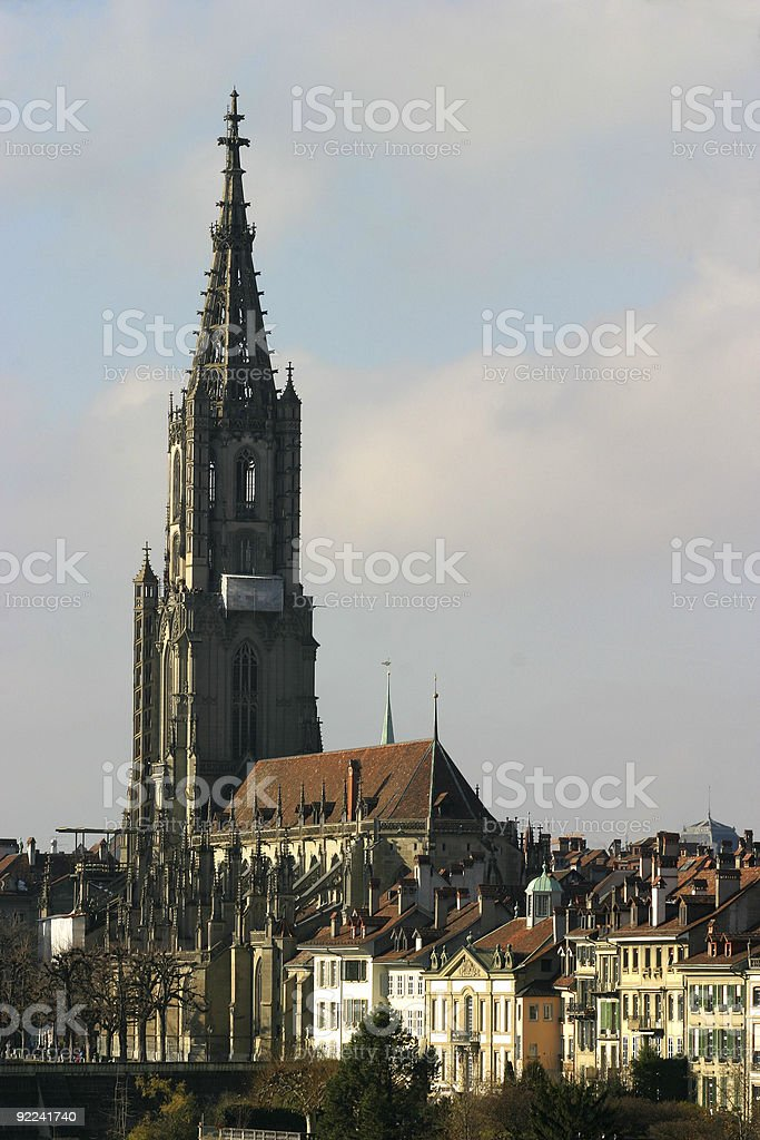 Places - Switzerland, Bern, City Scape #1 royalty-free stock photo