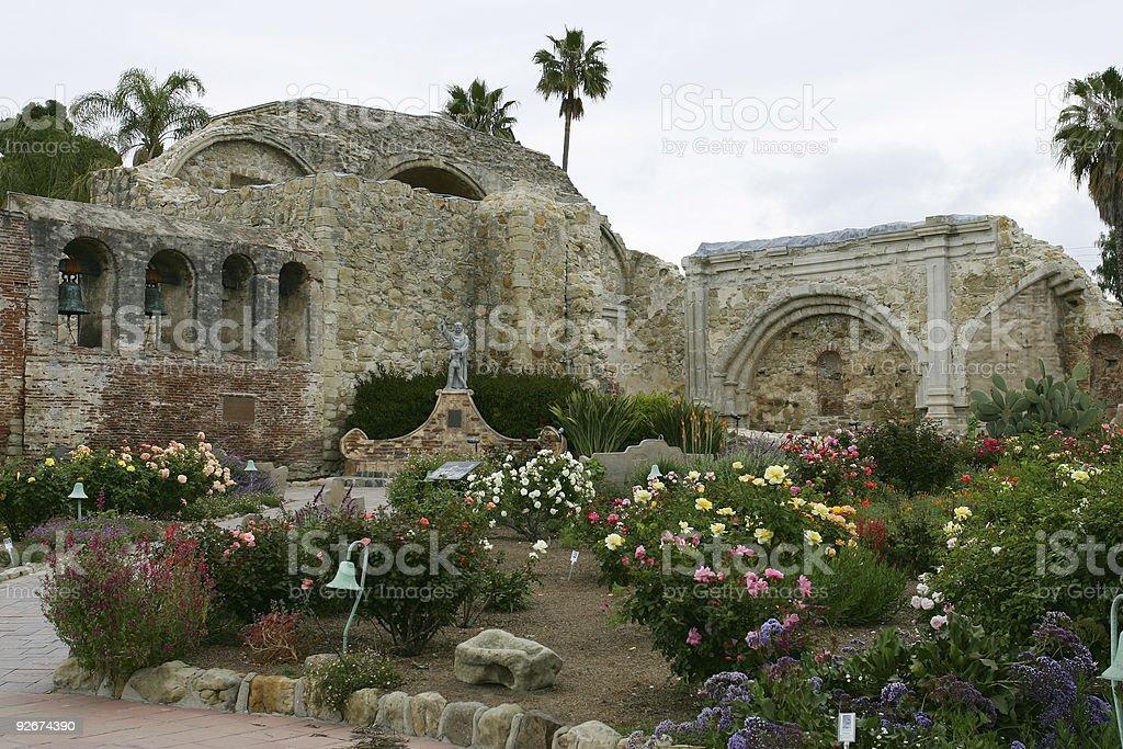 Places - USA - California - San Juan Capistrano Mission #3 royalty-free stock photo