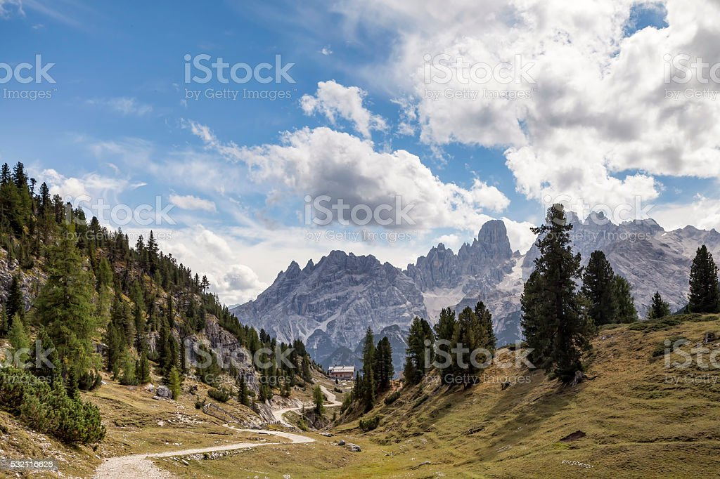 Plaetzwiese, Suedtirol stock photo