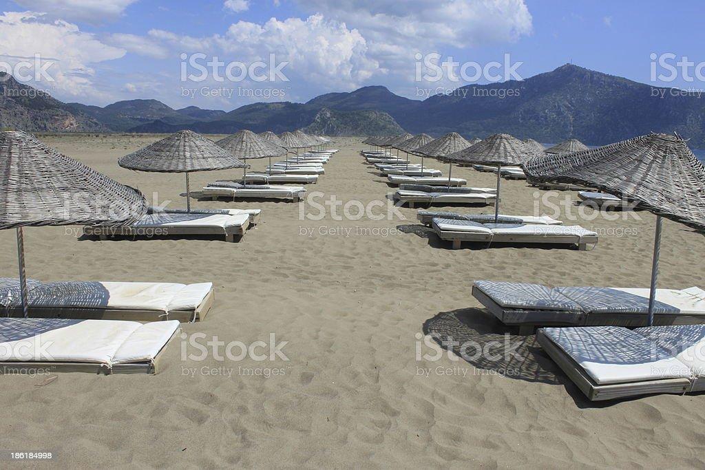 plage de Turquie royalty-free stock photo
