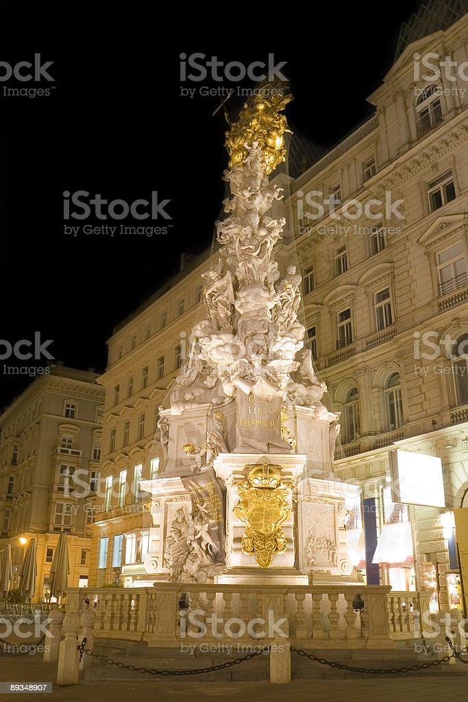Plague Column (Pestsäule) stock photo