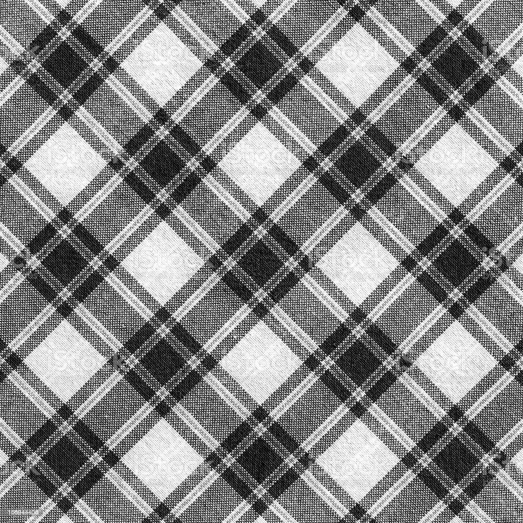 Plaid fabric background textured (XXXL) stock photo