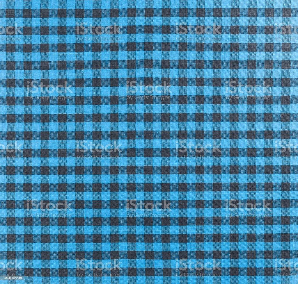 Plaid fabric stock photo