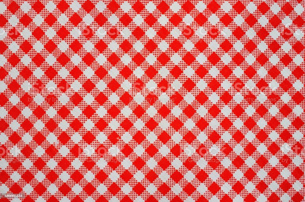 Plaid fabric surface texture stock photo