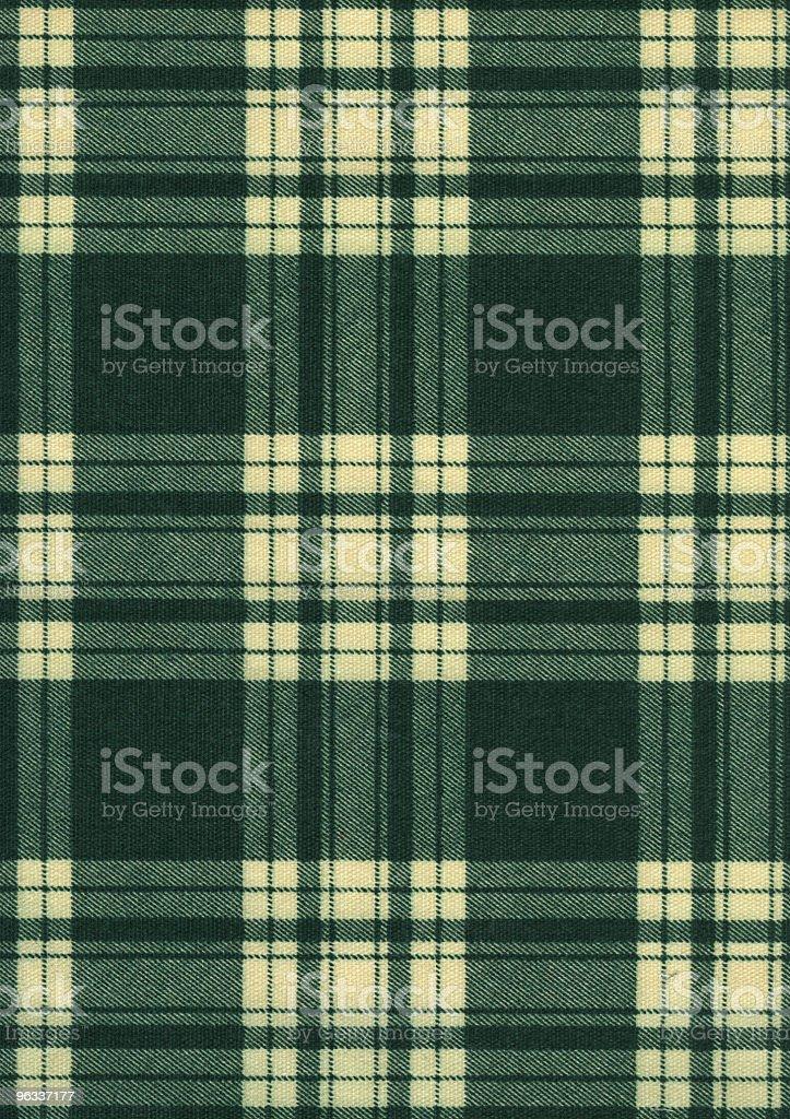 XXL Plaid Material royalty-free stock photo