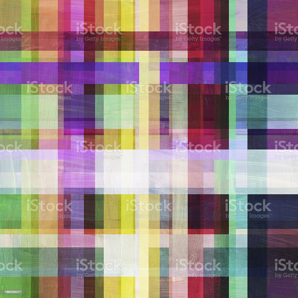 Plaid Painted Background royalty-free stock photo