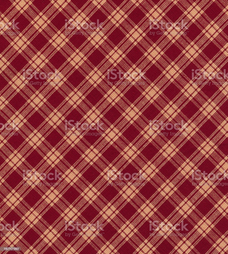 plaid tablecloth royalty-free stock photo