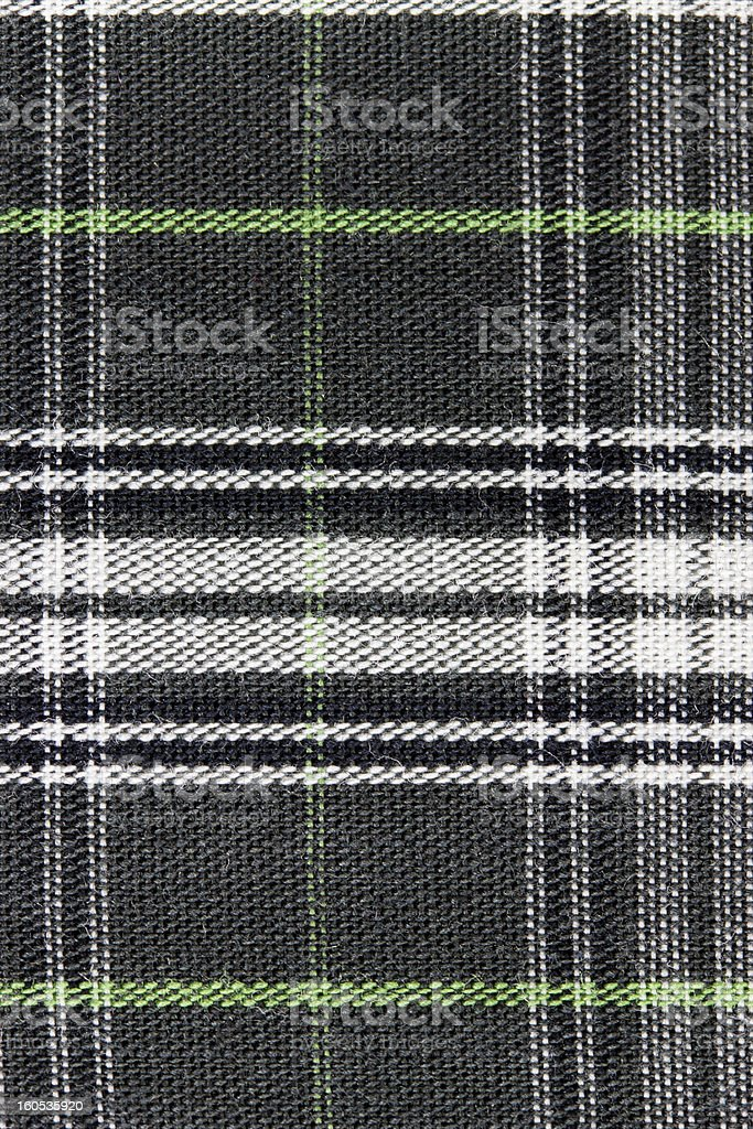 Plaid textile royalty-free stock photo