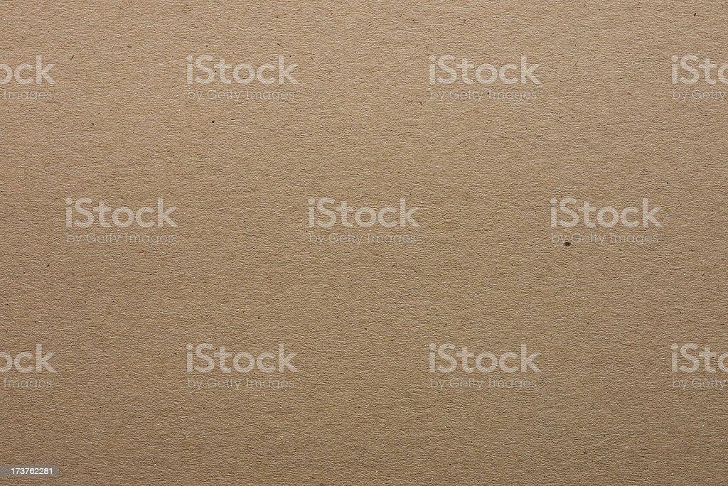 Plain brown cardboard background stock photo