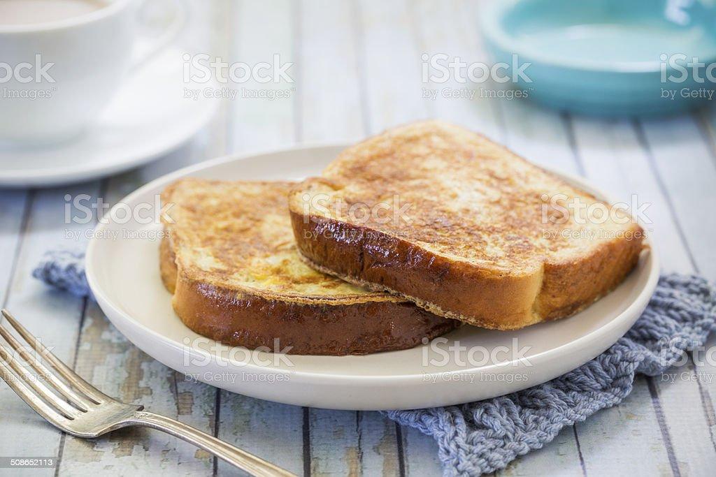 Plain French Toast stock photo