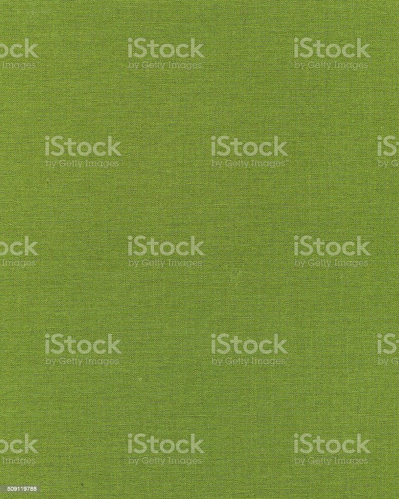 Plain green canvas texture stock photo