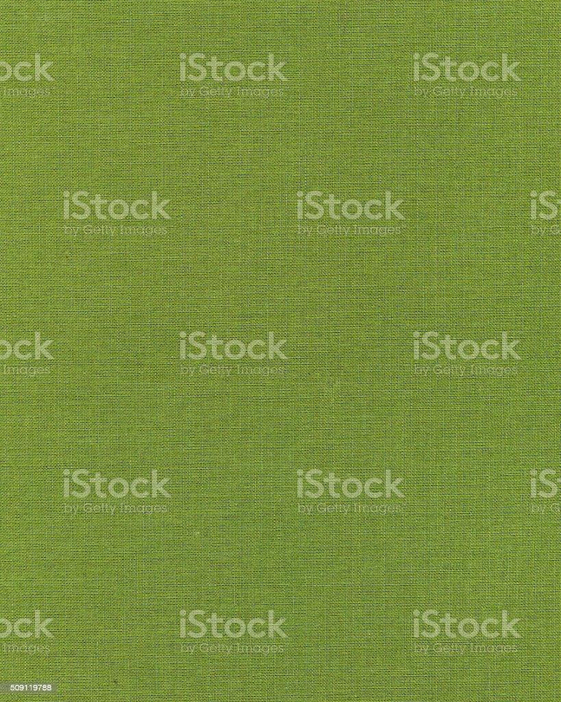 Plain green canvas texture stock photo