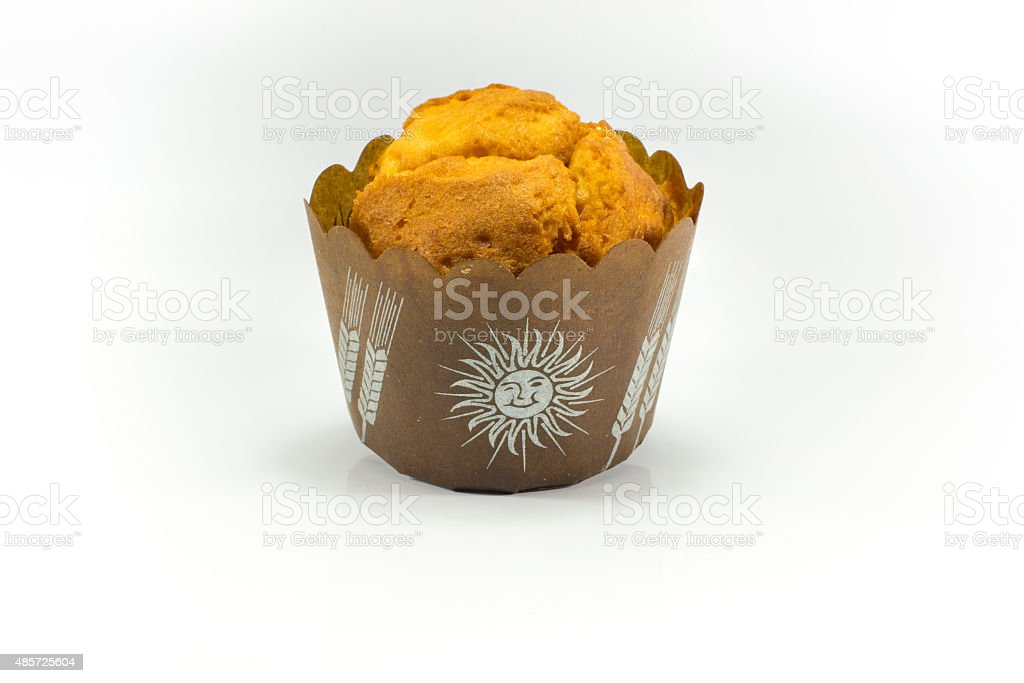 plain muffin stock photo