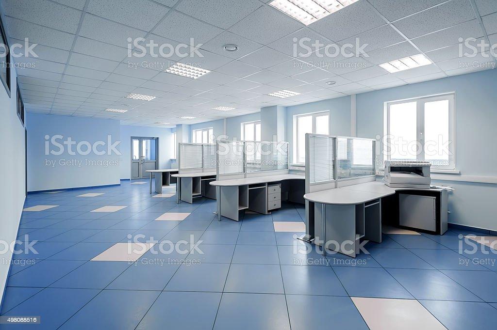plain office space interior stock photo