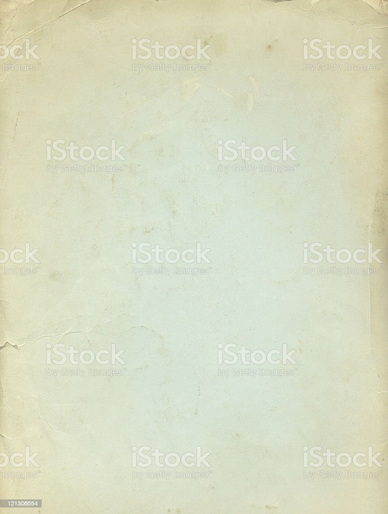 A plain piece of paper with a grunge texture royalty-free stock photo