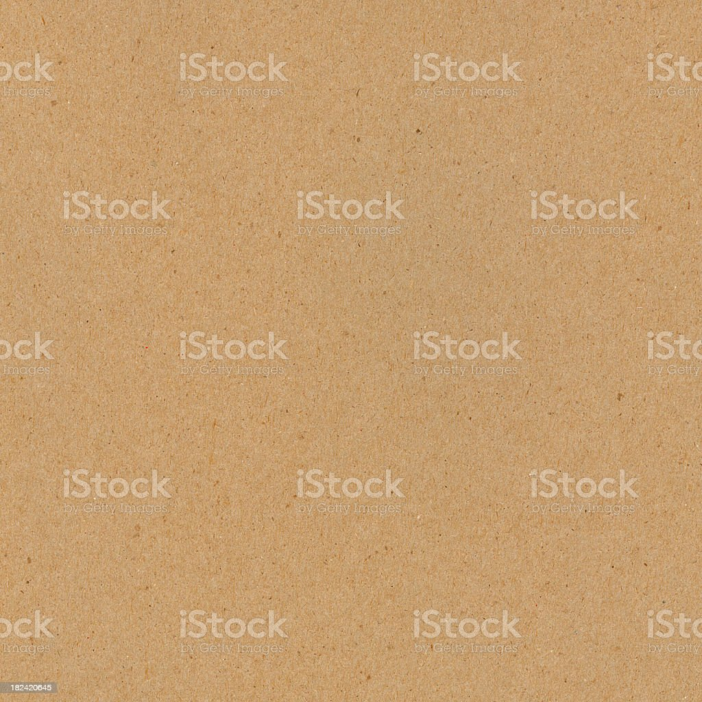 Plain recycled paper background stock photo
