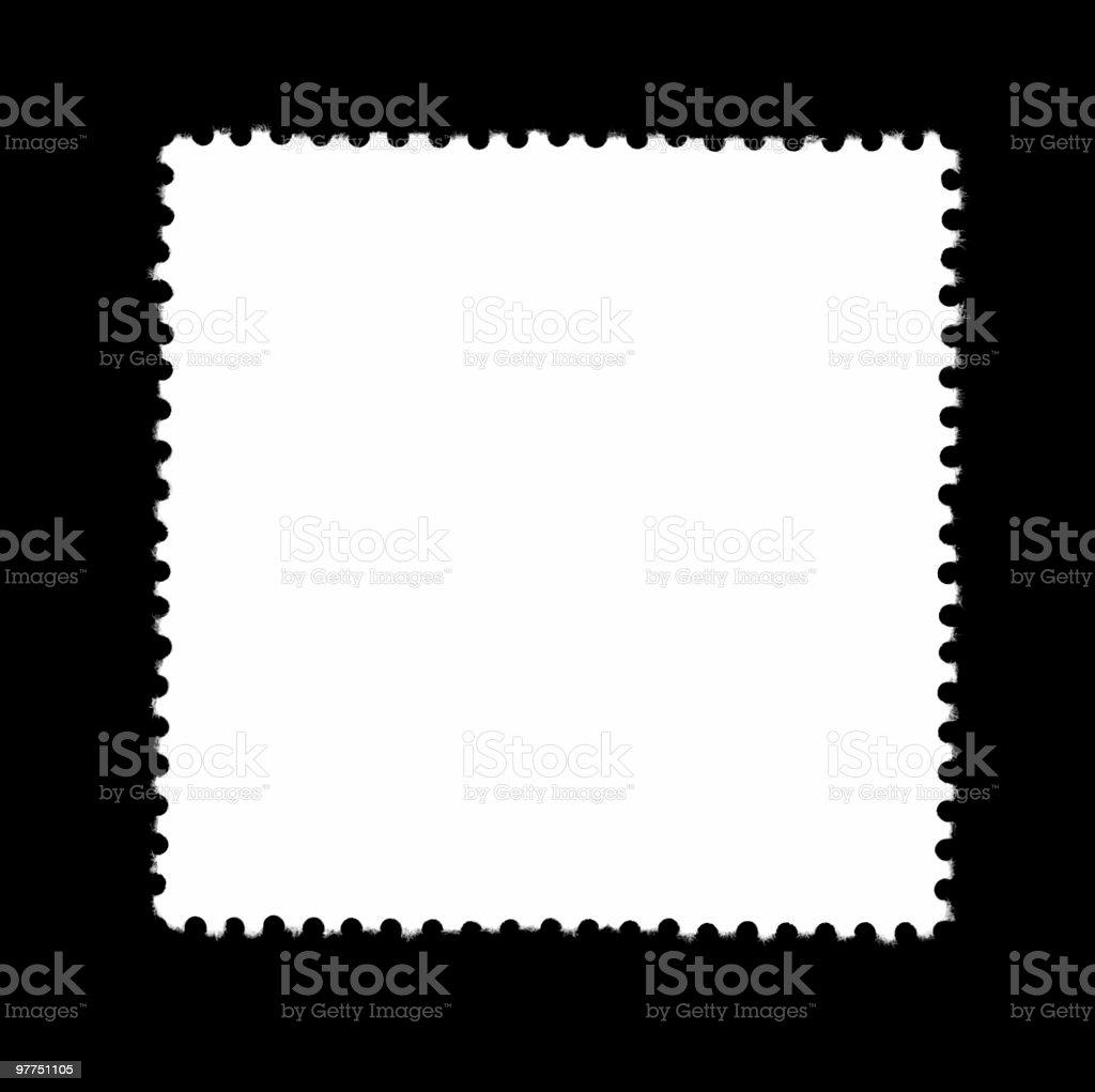 plain stamp stock photo