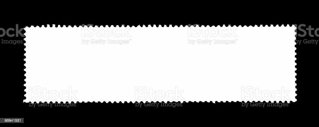 plain stamp silhouette stock photo