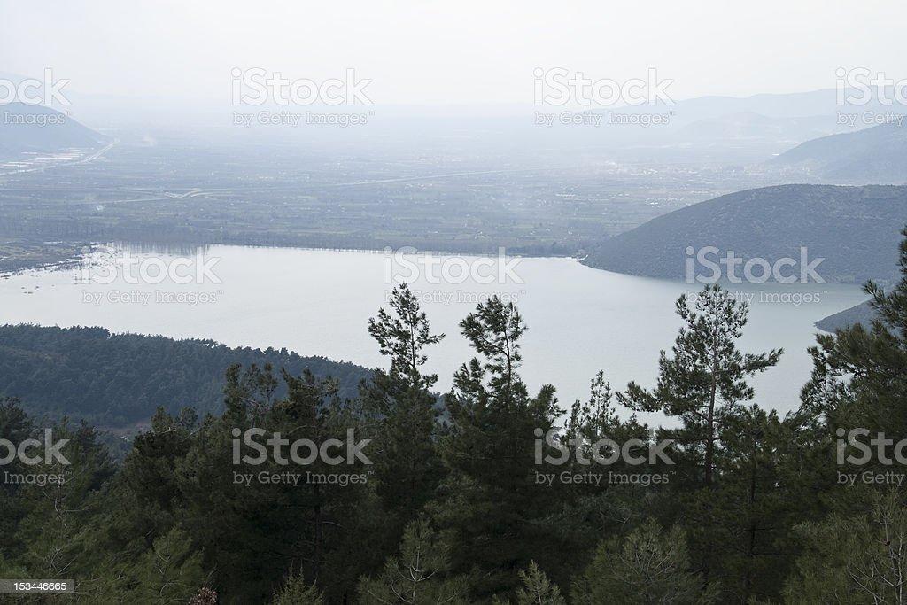 Plain view of Bursa city royalty-free stock photo