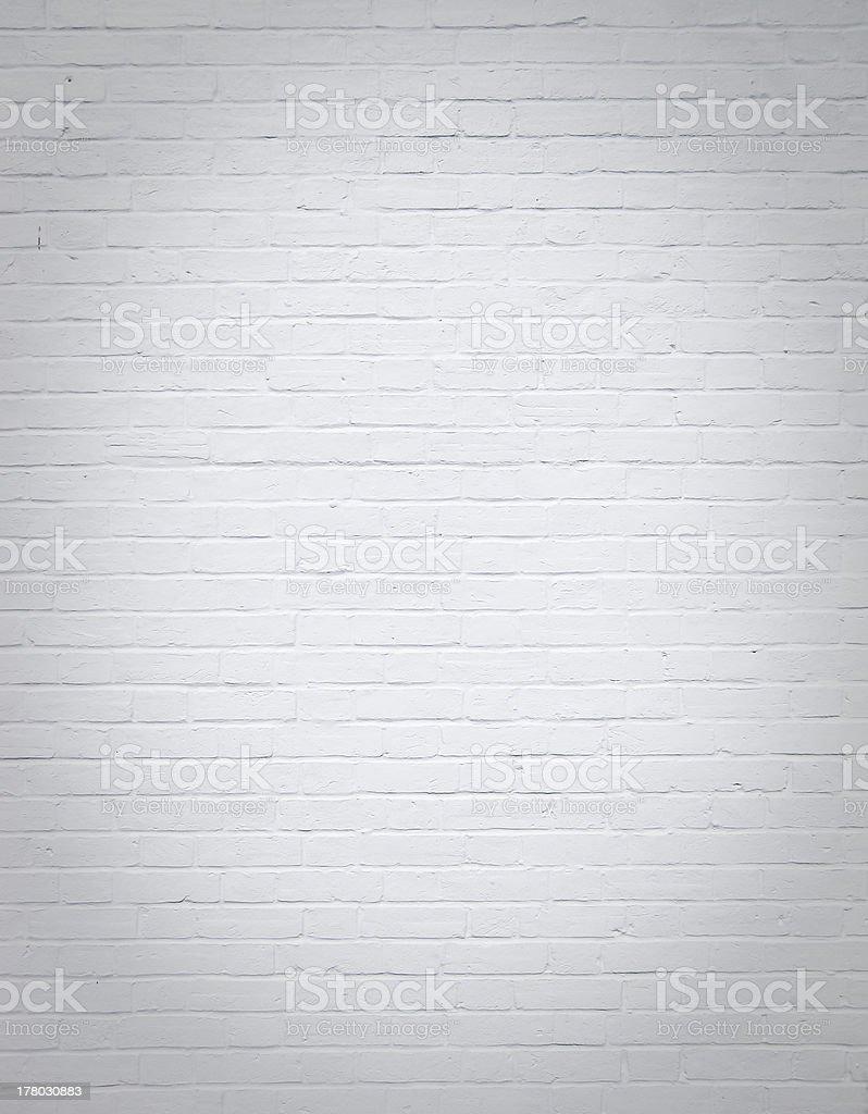 plain white brick wall background royalty-free stock photo